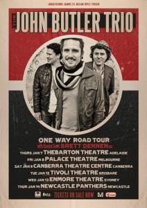 John Butler Trio Tour Poster