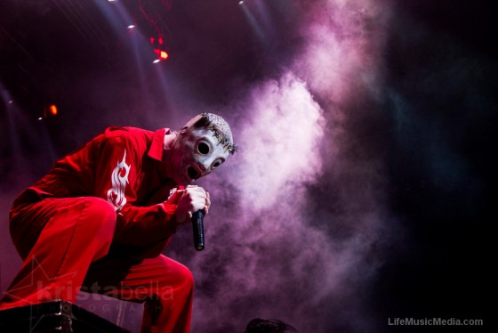 Slipknot at Rod Laver Arena, Melbourne - 1st March 2012 Photographer: Krista Melsom