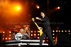 Green Day - photo by stuart blythe