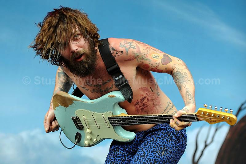Simon Neil - Biffy Clyro - photo by Stuart Blythe