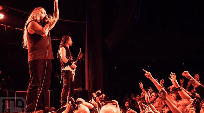 Live Review   Devildriver + Whitechapel @ The Hi-Fi, Sydney – September 6, 2014
