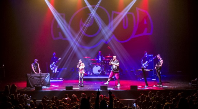 Aqua @ Palais Theatre, Melbourne