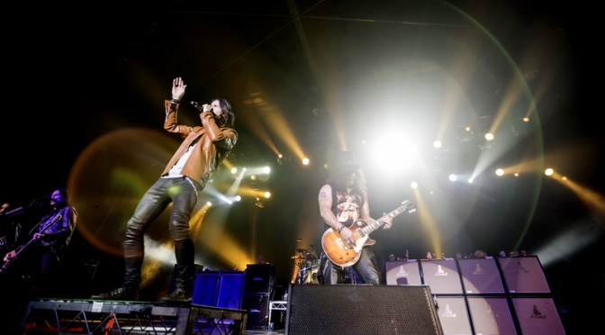 Live Review : Slash & Steel Panther at Hordern Pavilion, Sydney – February 24, 2015