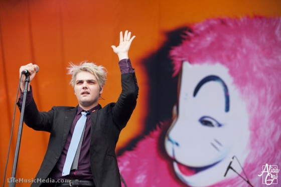 Gerard Way at Soundwave Festival 2015 - Sydney