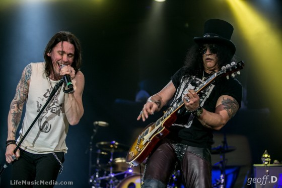 Slash – Festival Hall, Melbourne