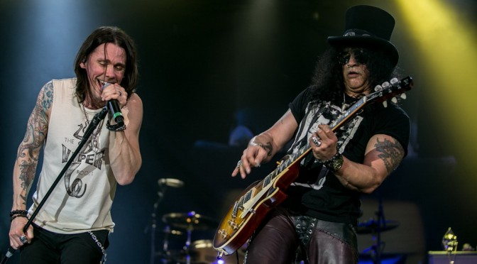 Live Review : Slash + Steel Panther – Festival Hall, Melbourne – 26th February 2015