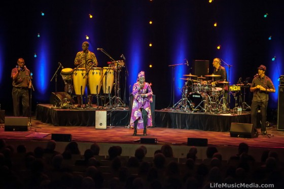 Angelique Kidjo at Melbourne Recital Centre - April 10, 2015
