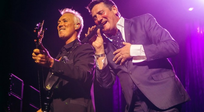 Photo Gallery : Spandau Ballet at Qantas Credit Union Arena, Sydney – May 15, 2015
