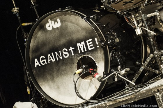 Against Me! at Max Watt's, Brisbane - May 29, 2015