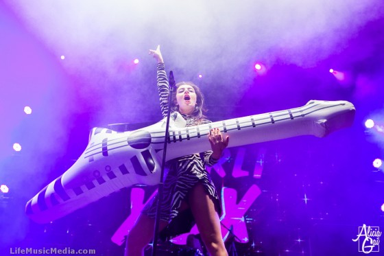 Charli XCX at Groovin' The Moo 2015, Maitland