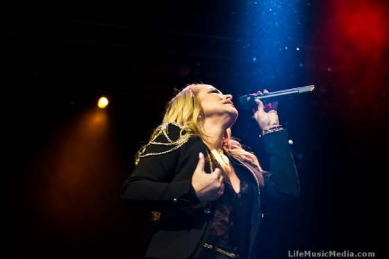 Anastacia at The Star Event Centre, Sydney - April 29, 2015