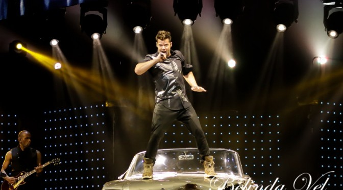 Live Review : Ricky Martin had Sydney Livin La Vida Loca! – April 30, 2015