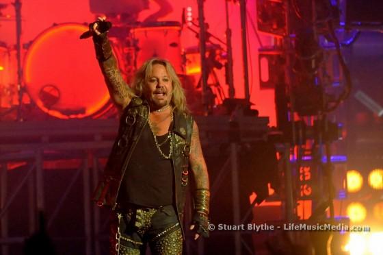 Mötley Crüe at Brisbane Entertainment Centre - May 19, 2015