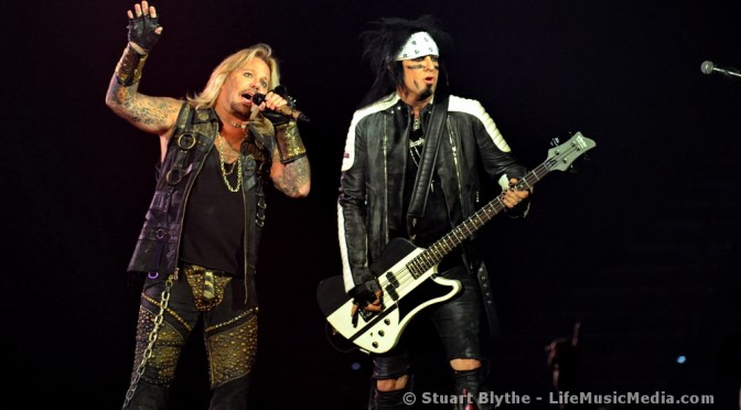 Mötley Crüe at Brisbane Entertainment Centre - May 19, 2015