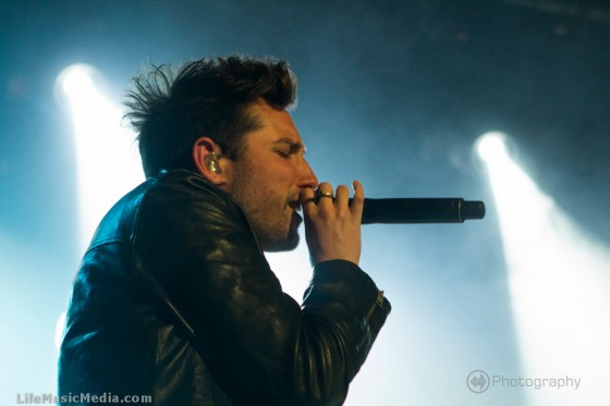 You Me At Six at The Hi-Fi, Melbourne - April 30, 2015