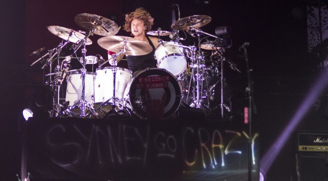 Photo Gallery : 5 Seconds Of Summer at Allphones Arena, Sydney – June 20, 2015