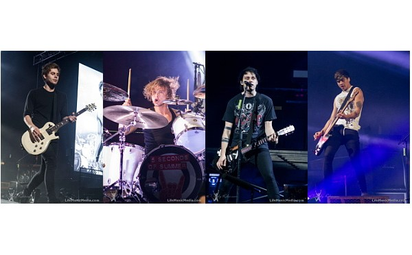 Live Review : 5 Seconds Of Summer Rock Sydney's Allphones Arena – June 20, 2015