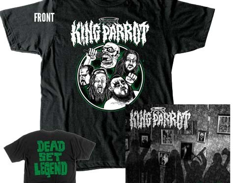Giveaway : KING PARROT – CD & Black T-Shirt Bundle