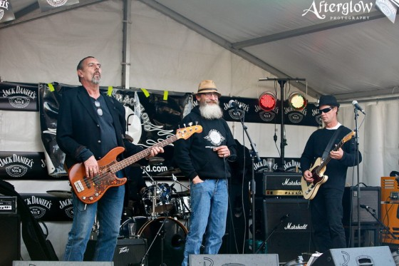 George MacFloyd Blues Band at Echuca Moama Winter Blues Festival