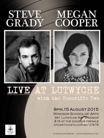 Grady&Cooper Live at Lutwyche Poster