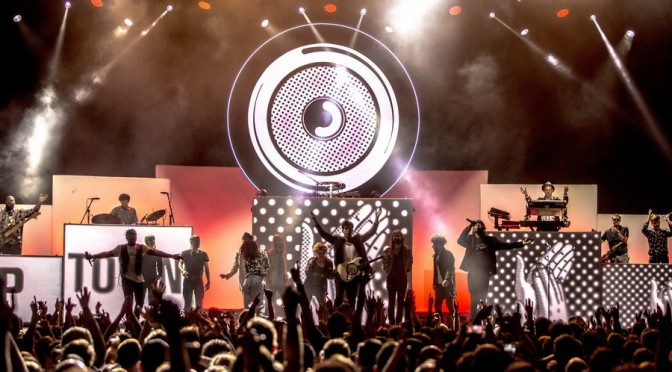Photo Gallery : Mark Ronson at Margaret Court Arena, Melbourne – July 29, 2015