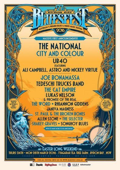 Bluesfest 2016 1st poster