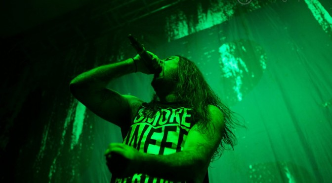 Photo Gallery : Thy Art Is Murder at Festival Hall, Melbourne – September 26, 2015