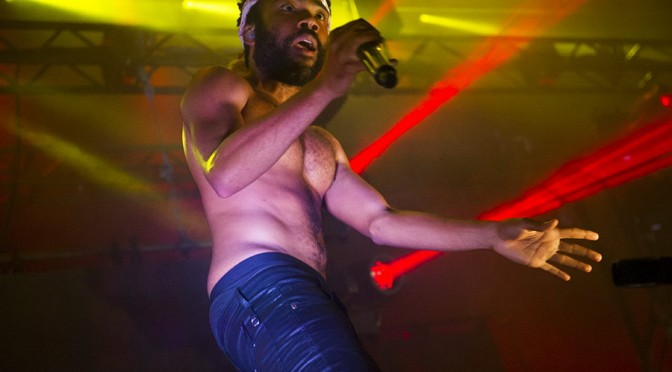 Childish Gambino at Listen Out 2015 Brisbane