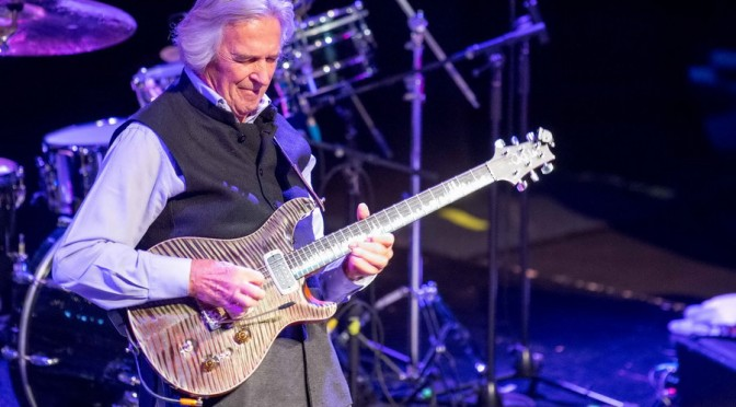 John McLaughlin at The Tivoli, Brisbane - October 10, 2015