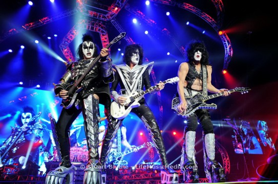 KISS at Brisbane Entertainment Centre - October 13, 2015