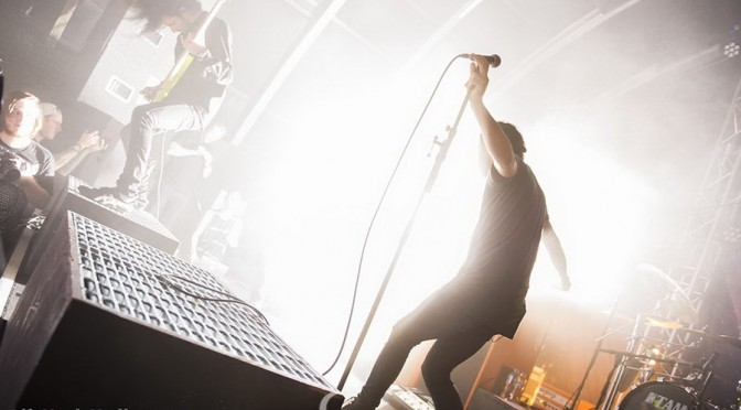 Photo Gallery : Northlane at The Triffid, Brisbane with August Burns Red, Like Moths To Flames, Buried In Verona, Ocean Grove –  November 14, 2015