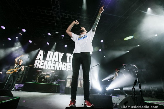A Day To Remember at Big Ass Tour - Riverstage, Brisbane