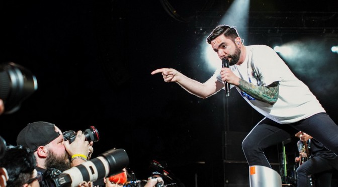 Photo Gallery : A Day To Remember at Big Ass Tour – Riverstage, Brisbane – December 19, 2015