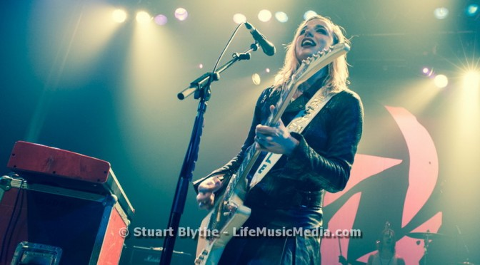 Photo Gallery : Halestorm at The Tivoli, Brisbane – December 15, 2015