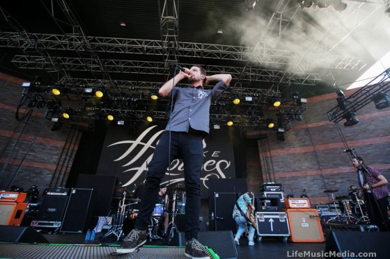 Hands Like Houses at Big Ass Tour - Riverstage, Brisbane