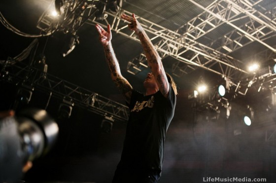 The Amity Affliction at Big Ass Tour - Riverstage, Brisbane