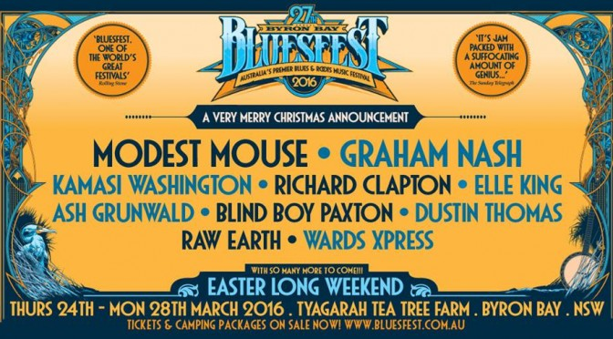 Bluesfest 'Presents' This Merry Christmas Announcement- With Artists For Everyone's Taste