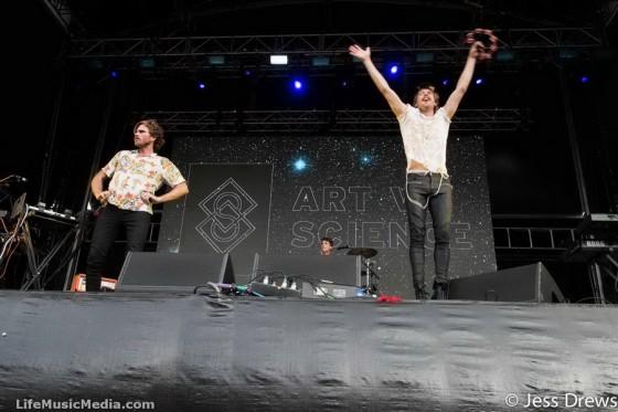 Art vs Science at Falls Festival, Byron Bay - NYE 2015