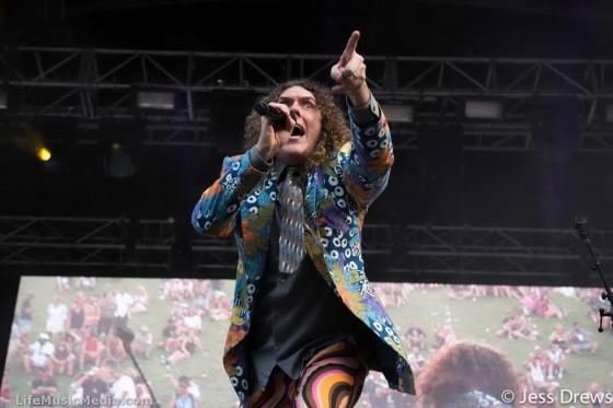 'Weird Al' Yankovic at Falls Festival, Byron Bay - NYE 2015