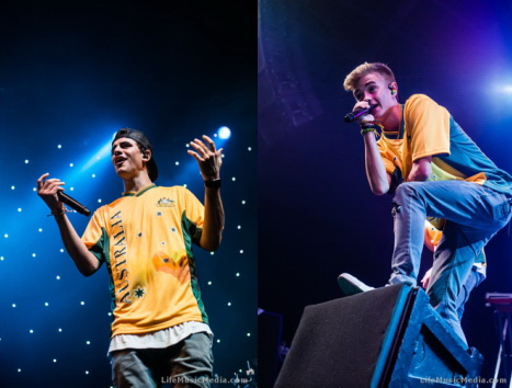 Photo Gallery : Jack & Jack + At Sunset at Big Top Luna Park, Sydney – January 17, 2016