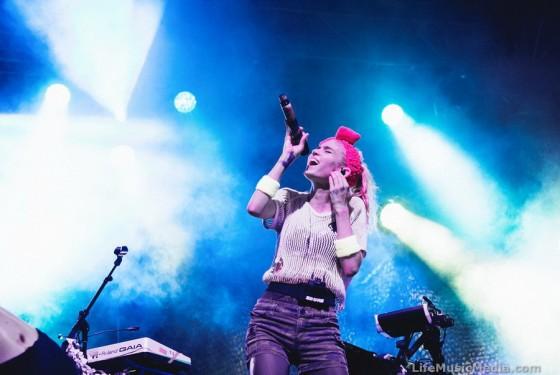 Grimes at Laneway Festival 2016 - Brisbane