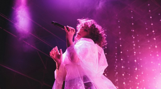 Purity Ring at Laneway Festival 2016 - Brisbane