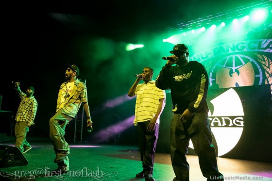 Wu-Tang Clan at Brisbane Riverstage - February 26, 2016 Photographer:  Greg Morgan
