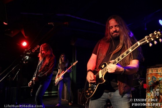 Blackberry Smoke at The Basement, Sydney - March 23, 2016 Photographer: Peter Coates