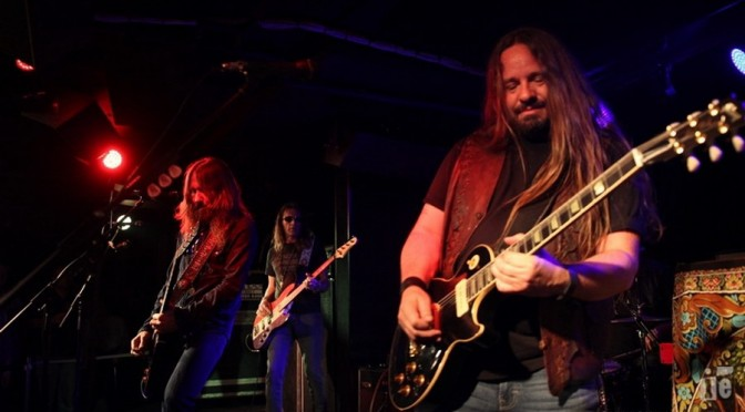Live Review : Blackberry Smoke + Adam Eckersley Band at The Basement, Sydney – March 23, 2016