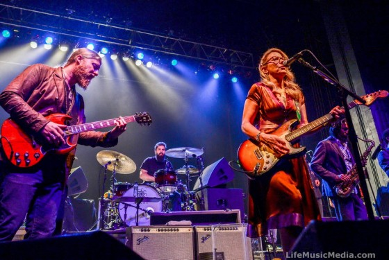 Tedeschi Trucks Band at Enmore Theatre, Sydney - March 22, 2016 Photographer: David Jackson