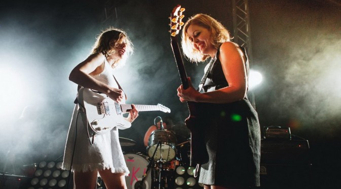 Sleater-Kinney at The Triffid, Brisbane - March 5, 2016 Photographer:  Charlyn Cameron