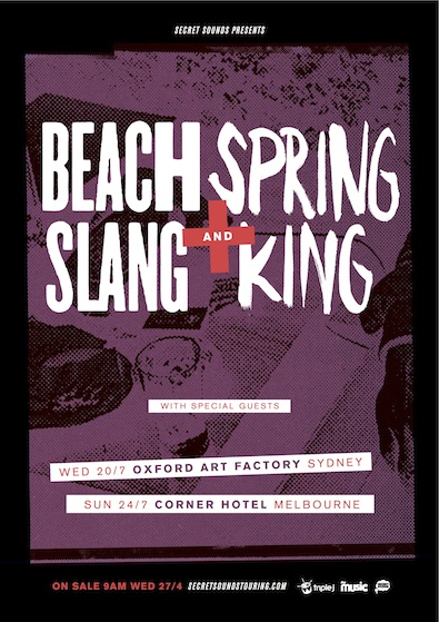 BEACH SLANG SPRING KING