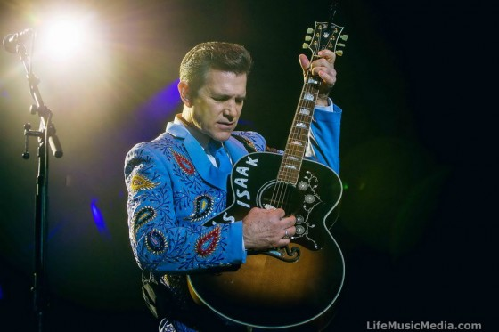 Chris Isaak at A Day On The Green - Bimbadgen Estate, Pokolbin Australia  - April 9, 2016 Photographer: David Jackson
