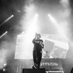 Danny Brown at Groovin The Moo - Canberra 2016